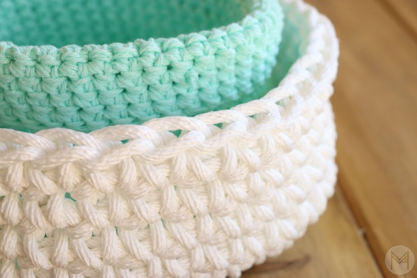 Free Pattern Quick And Simple Crochet Basket Great For