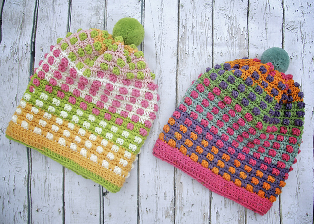 [Free Pattern] Cute Bubble Gum Hats For Kids Of All Ages