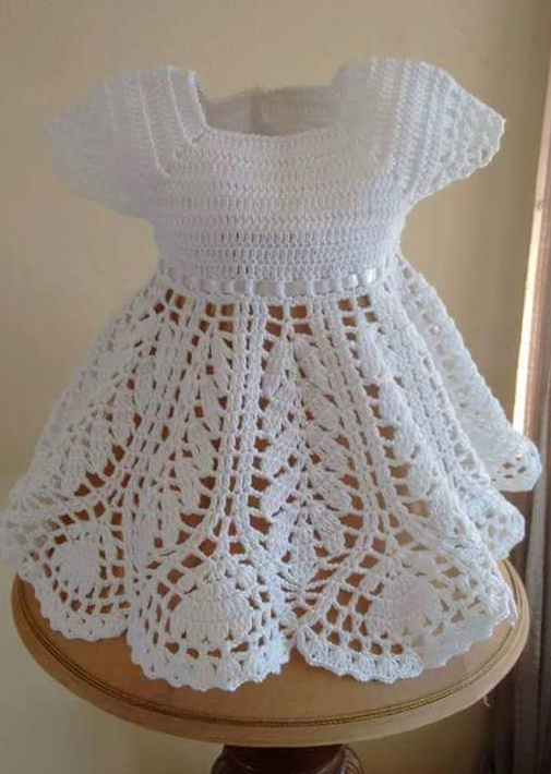 Free Pattern Dress Up Your Little Girl In This Gorgeous Crocheted