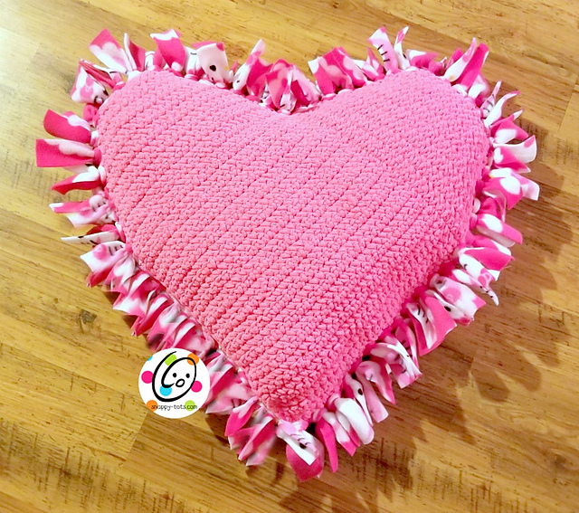 Giant Squishy Heart Pillow Perfect For Romantic Evening Decorations