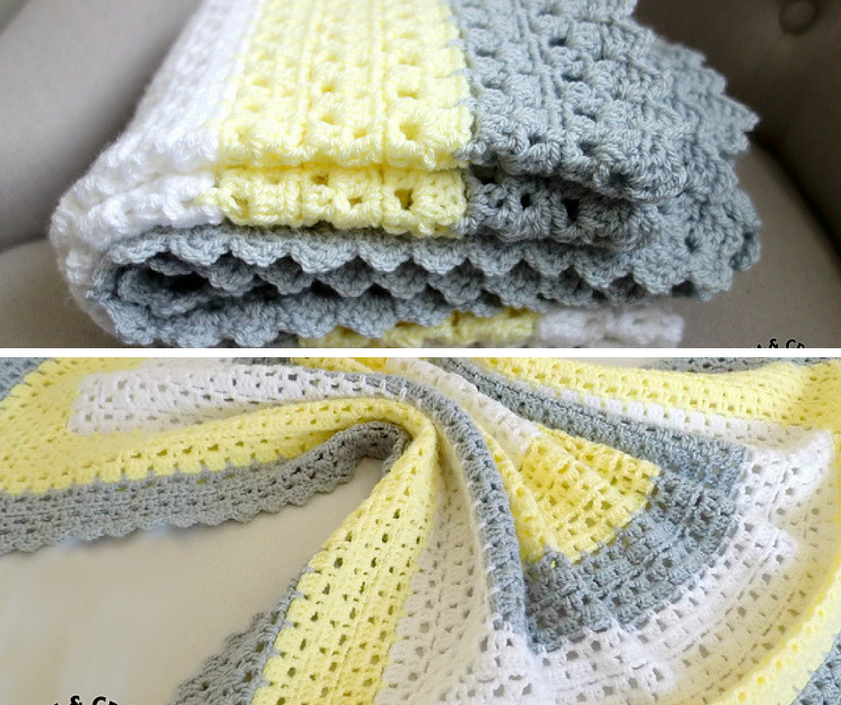 Free Pattern Superbly Simple Baby Blanket For Mindless ...