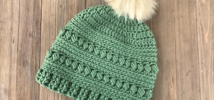 Free Pattern Lovely Bead Stitch Crochet Hat Knit And Crochet Daily