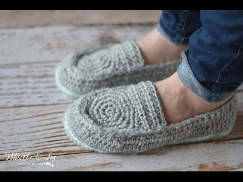 [Video Tutorial] Fabulously Warm And Comfy Women's Loafer Slippers