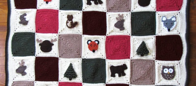 Free Pattern Absolutely Adorable Woodland Granny Square Afghan