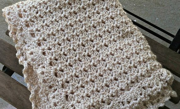 [Free Pattern] The Prettiest Lace Baby Blanket You'll Ever Make - Knit And Crochet Daily