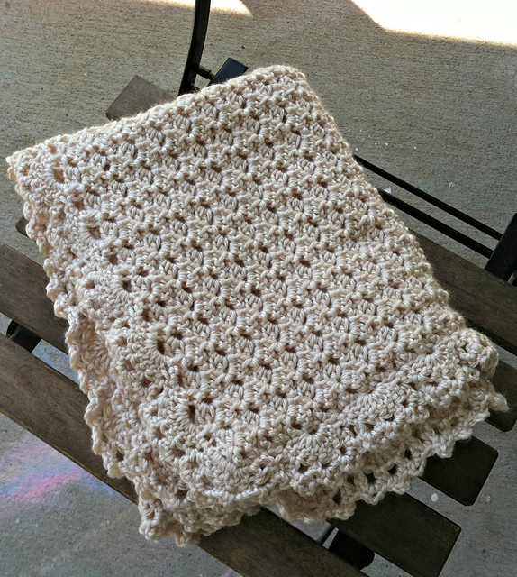 [Free Pattern] The Prettiest Lace Baby Blanket You'll Ever Make