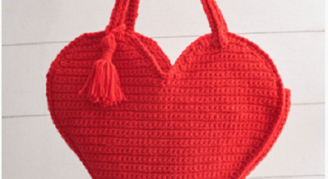 Free Pattern Heart Shaped Tote Bag For A Fun And Creative Carrying