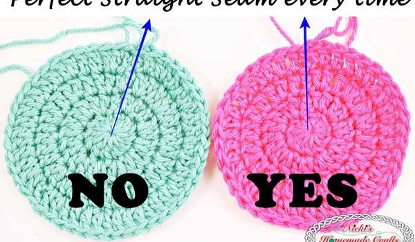 7338f9bf1e8 How To Keep Crochet Seam Straight When Working In The Round - Knit ...