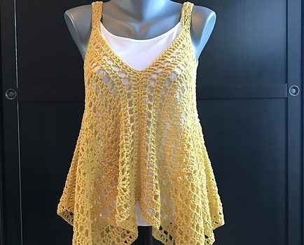 Very Easy And So Fabulous Crochet Tank Top Free Pattern Knit And