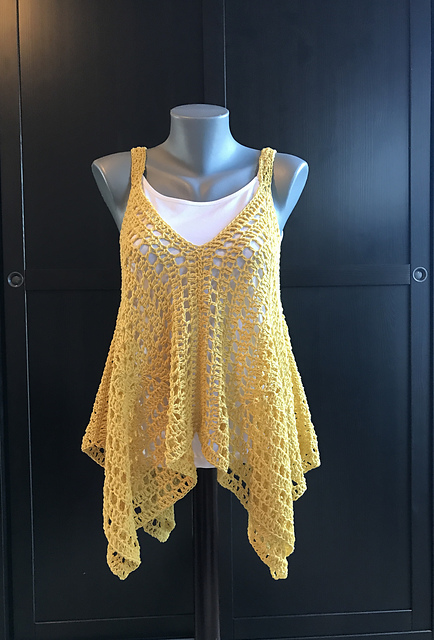 Very Easy And So Fabulous Crochet Tank Top Free Pattern
