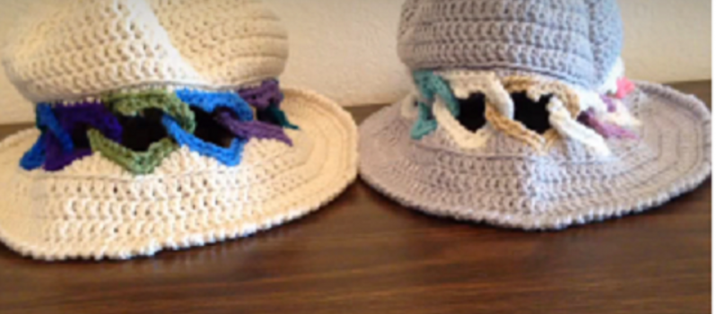 c96c53dc7 Crochet Panama Hat From The Heart [Free Pattern+Video Tutorial ...
