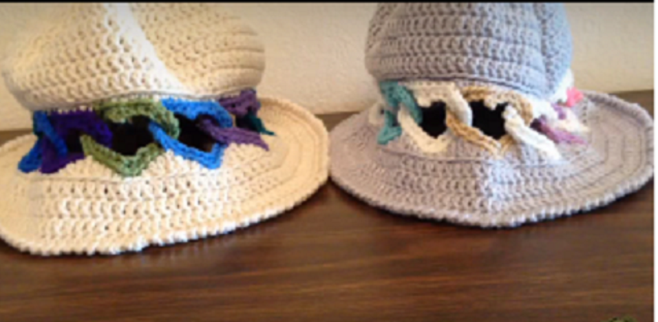 Crochet Panama Hat From The Heart [Free Pattern + Video Tutorial]