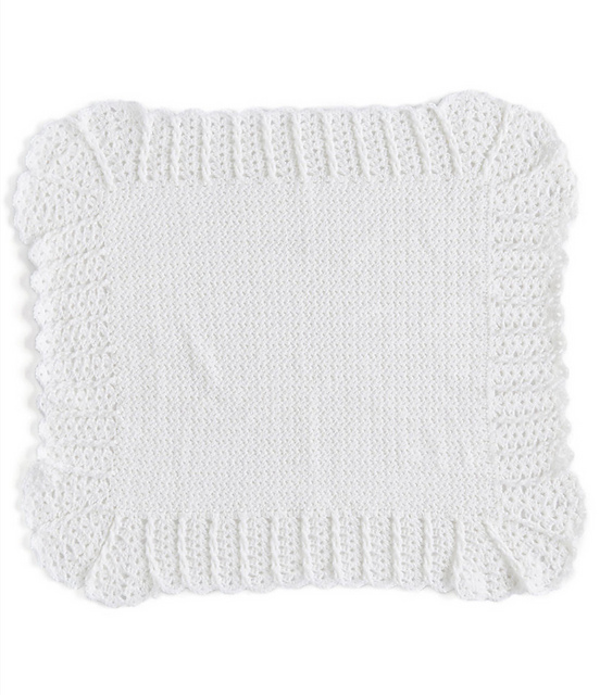 Delicate Cables And Lace Crochet Baby Blanket Free Pattern