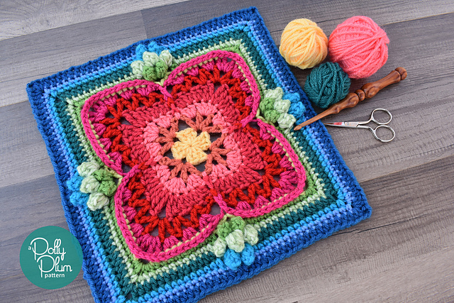 Granny Squares Patterns Archives Knit And Crochet Daily