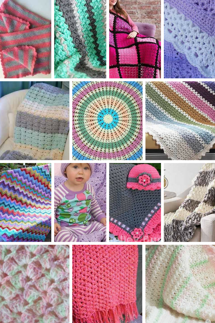 21 Quick And Easy Baby Blankets To Crochet With Free Patterns Knit And Crochet Daily