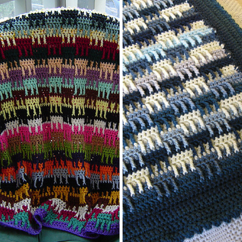[Free Pattern] This Afghan Crochet Pattern Is Perfect Stash Buster