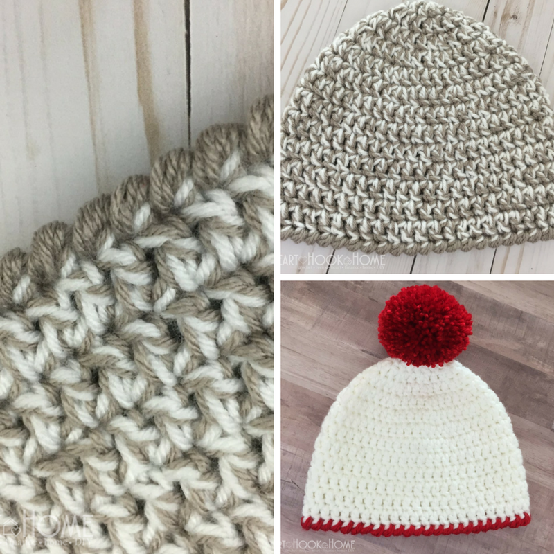 How To Crochet A Beanie In 30-Minutes Or Less