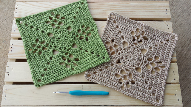 [Free Pattern] Simple And Elegant Square With Spectacular Eye Catching Design