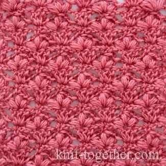 Learn A New Crochet Stitch: Cherry Blossoms Stitch