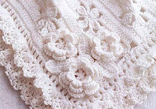 Darling Baby Blanket With Roses Free Crochet Pattern Video