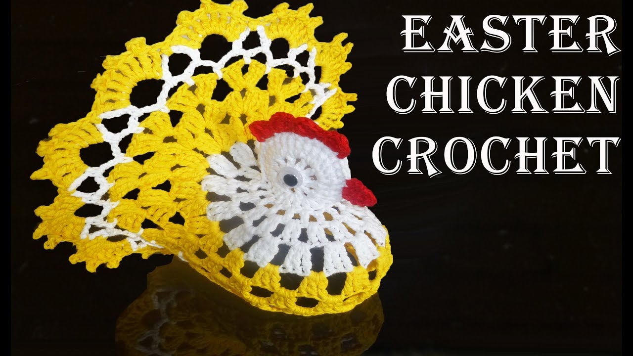 [Free Pattern] Incredible Cute And Clever Crochet Chicken Doily