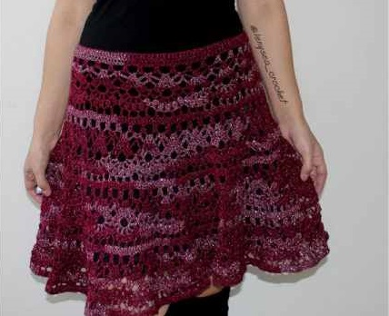 Super Easy Crochet Skirt Video Tutorial Page 2 Of 2 Knit And