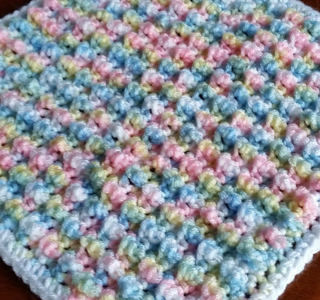 [Video Tutorial] Super Easy Crochet Bubble Pop Stitches Baby Blanket