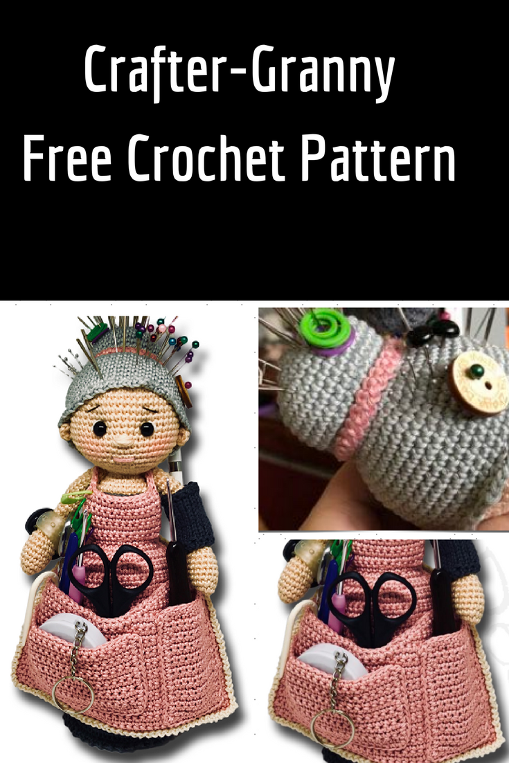 Crafter Granny  Free Crochet Pattern