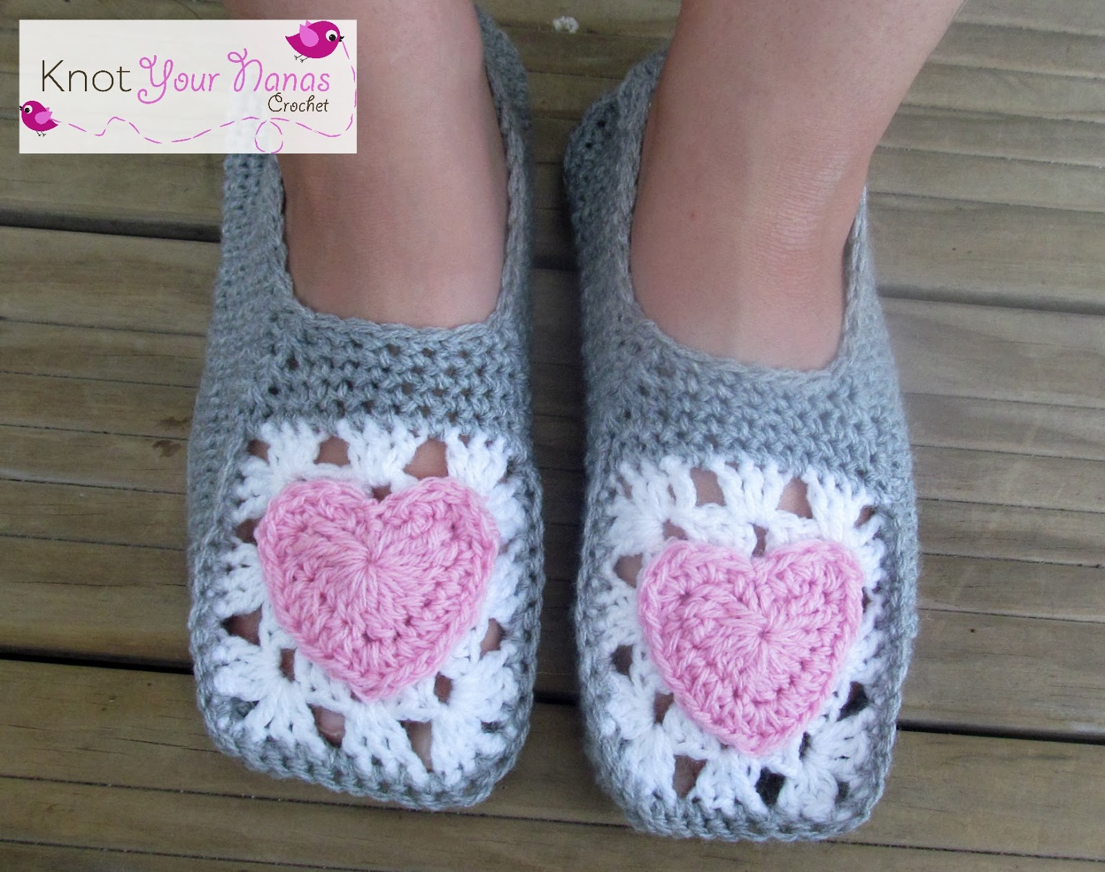 Easy Crochet Slippers For Adults Free Pattern Knit And