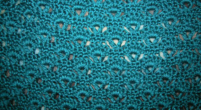 This Peacock Feathers Stitch Afghan Is A Stunner Knit And Crochet