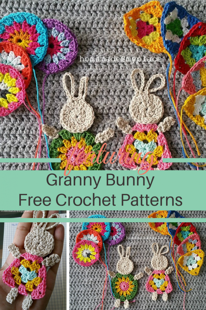 [Free Pattern] Most Adorable Granny Bunny Crochet Patterns Ever!