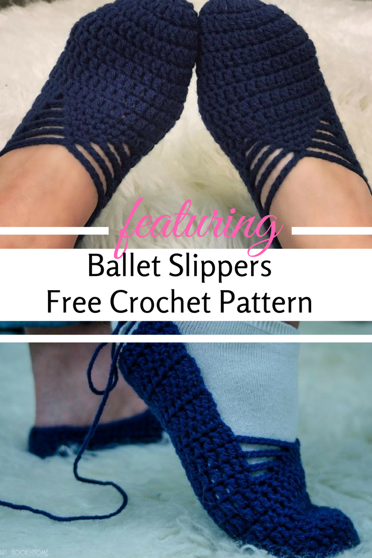 Ballet Slippers Free Crochet Pattern For Adults Fast And Extremely