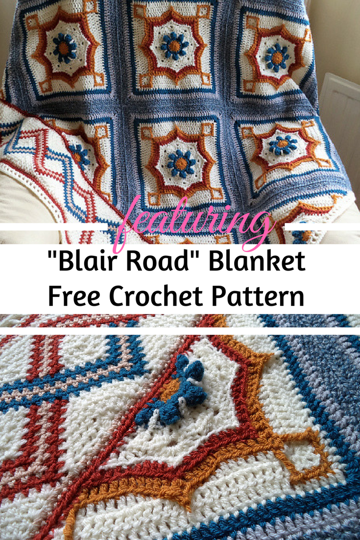 Amazing Block And Triangle Crochet Project [Free Pattern]