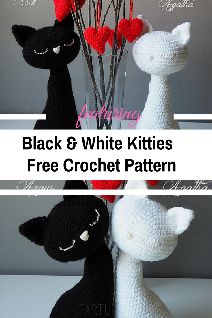 Agatha & Argus Kitties Crochet Patterns Are Gorgeous!