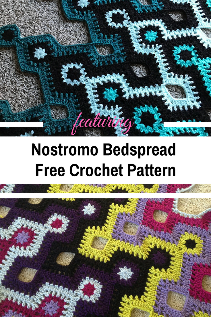 This Fabulous Crochet Bedspread Is The Most Ingenious Application Of The Granny Square Concept We've Ever Seen