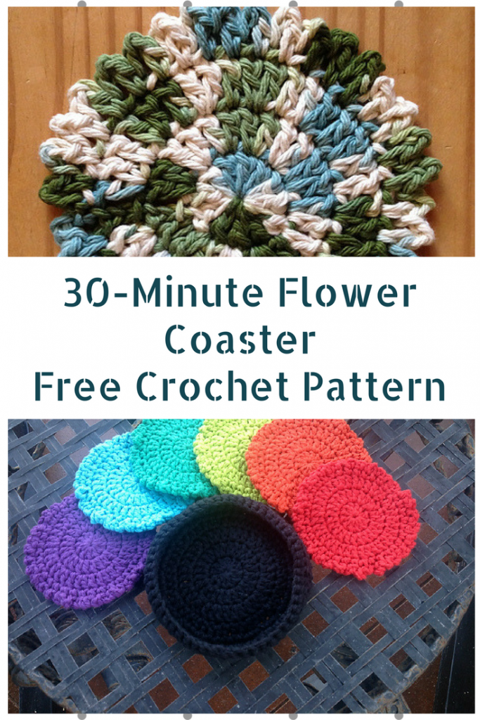 30 Minute Crochet Projects- Free Crochet Patterns