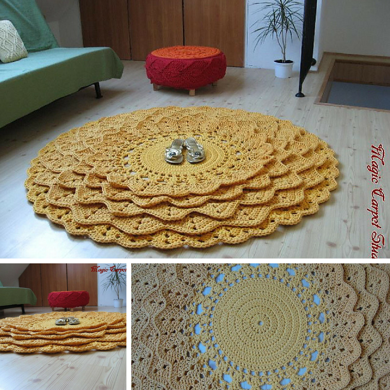 7 Free Crochet Rug Patterns That Add Life to Your Home