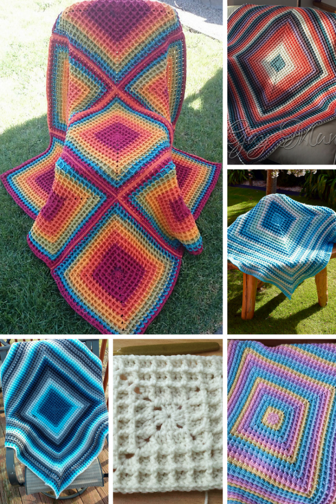 How To Turn A Squared Waffle Dishcloth Into A Waffle Blanket Any Size