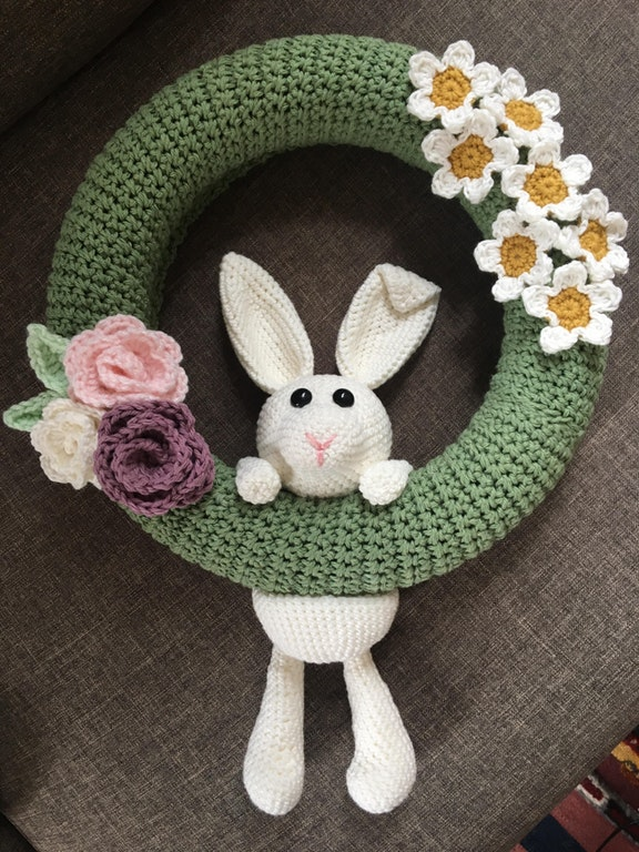 Fabulous Crochet Easter Wreath Pattern To Make Now