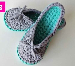 Crochet Slippers Archives Knit And Crochet Daily