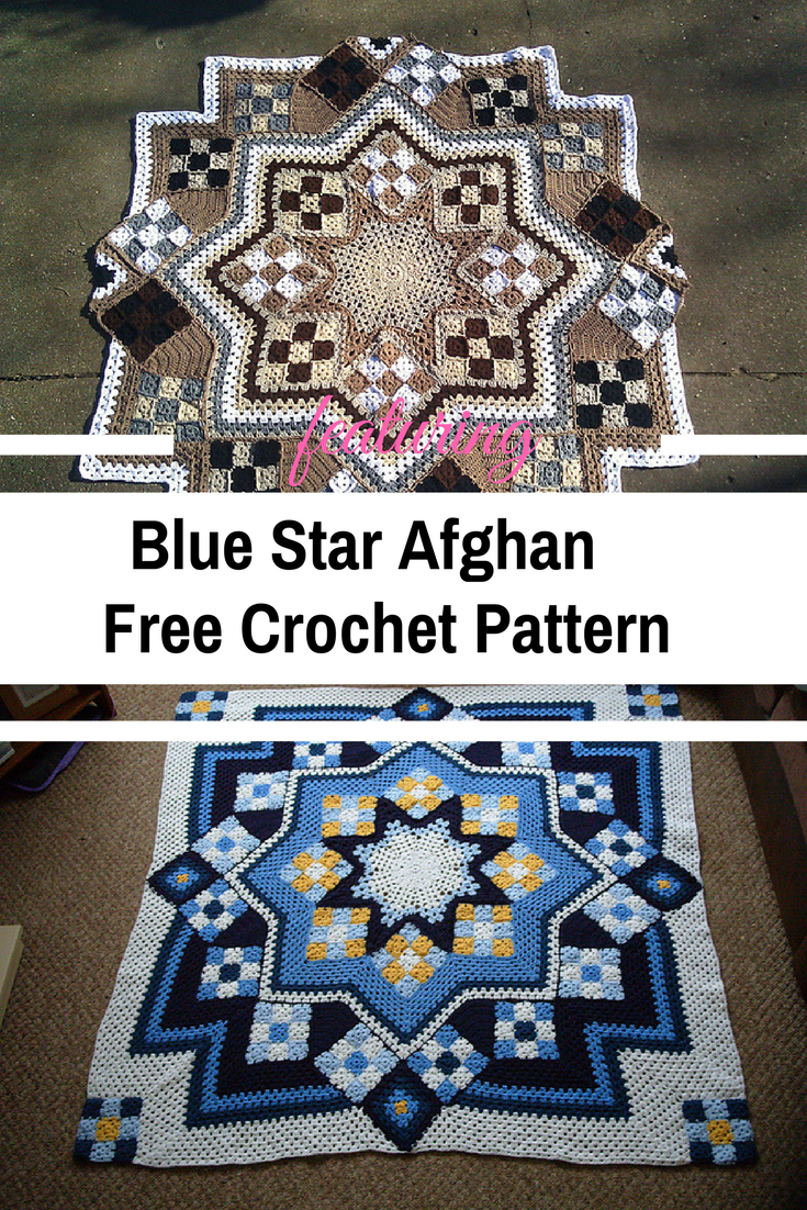 Stellar Crochet Afghan Pattern To Add To Your Collection