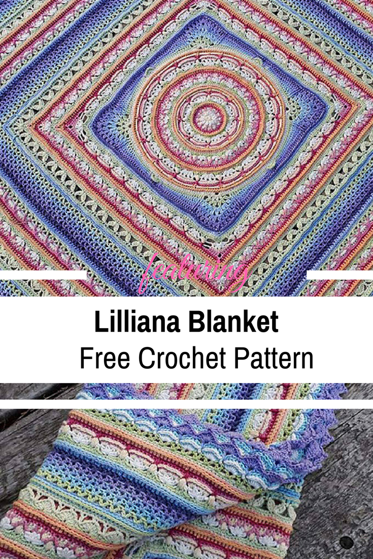 Simply Spectacular Crochet Blanket Free Pattern