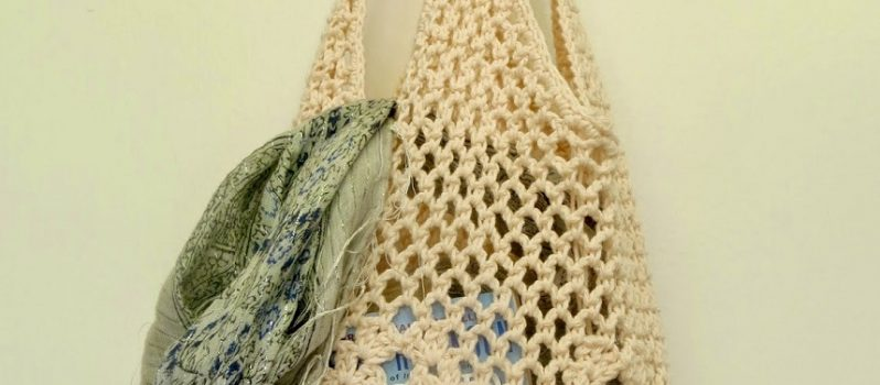 Crochet Market Tote Bag Free Pattern Ideas Knit And