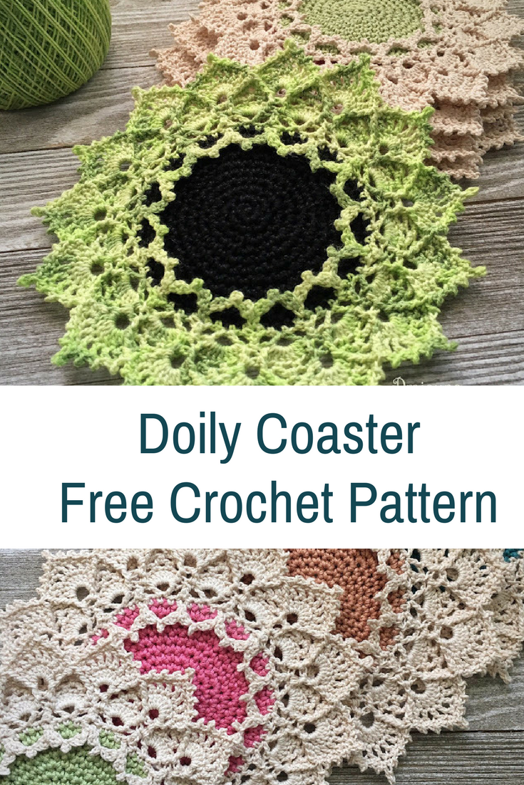 Amazing Doily Coaster Crochet Pattern