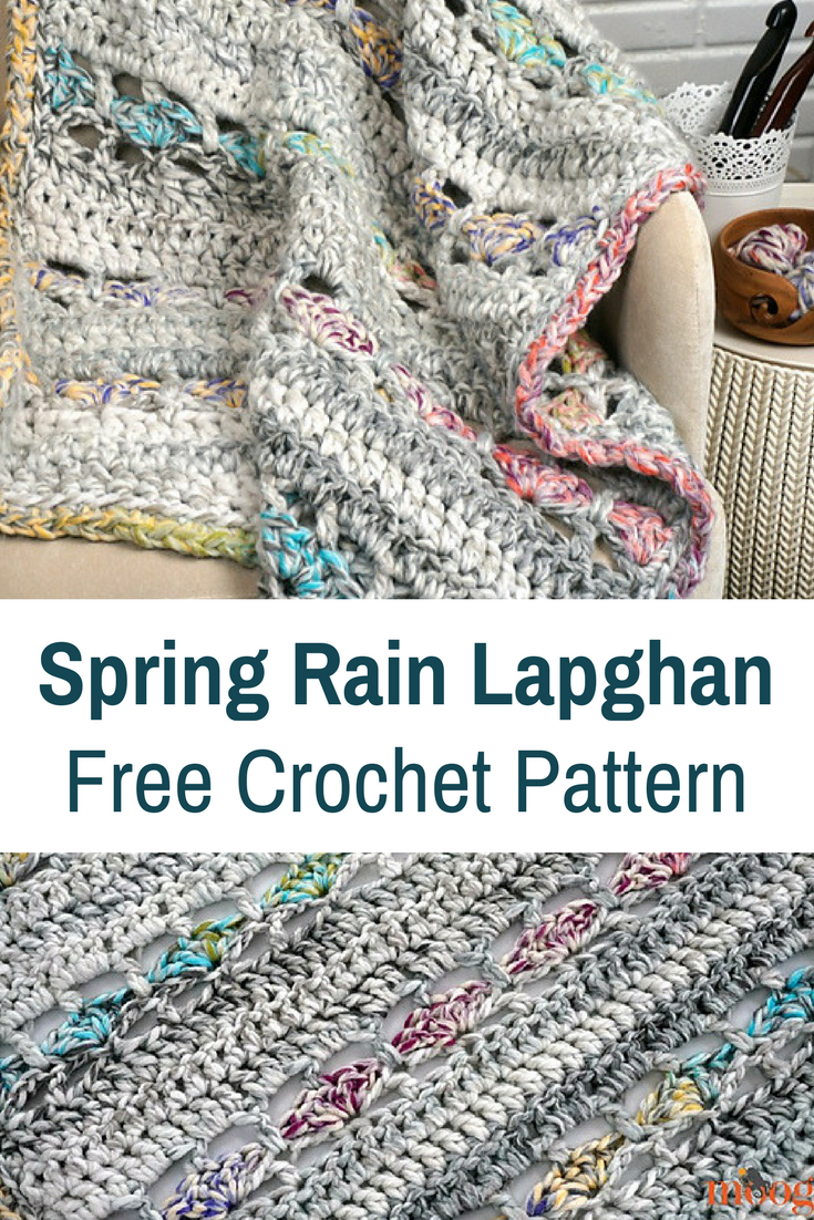 Super Fast Springtime Free Crochet Lapghan Pattern