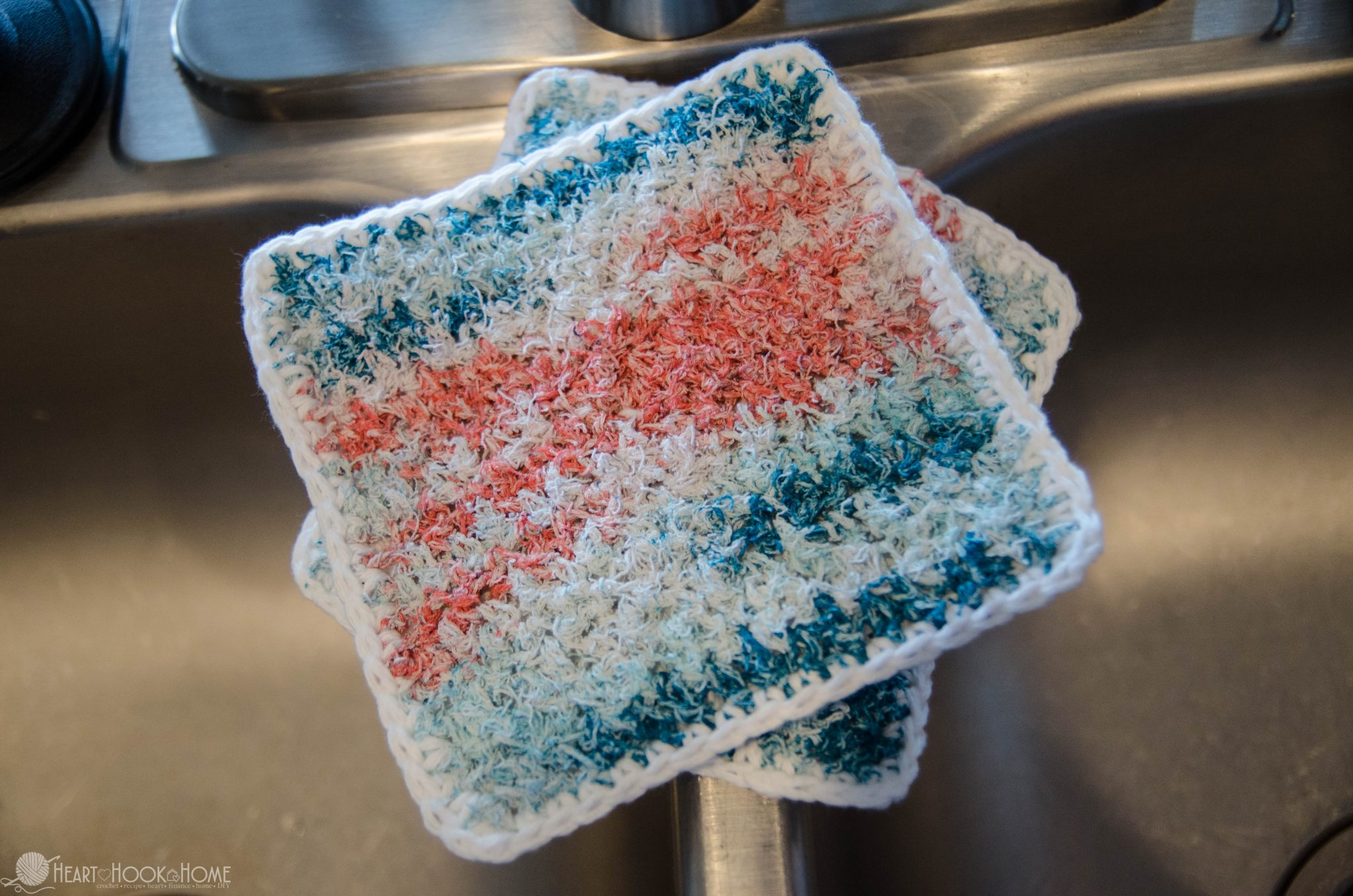 Brilliant Two-Sided Scrubby Dishcloth Crochet Pattern To Make & Sell ...