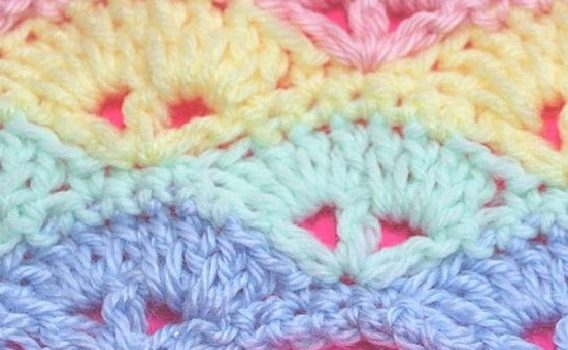 Learn A New Crochet Stitch: Cute Baby Blanket Stitch [Video