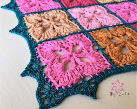 Flowery Doily For The Kitchen Table Free Crochet Pattern Knit And