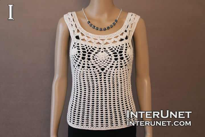 White Ivy Tank Top Crochet Lace Blouse Image Of Blouse And Pocket