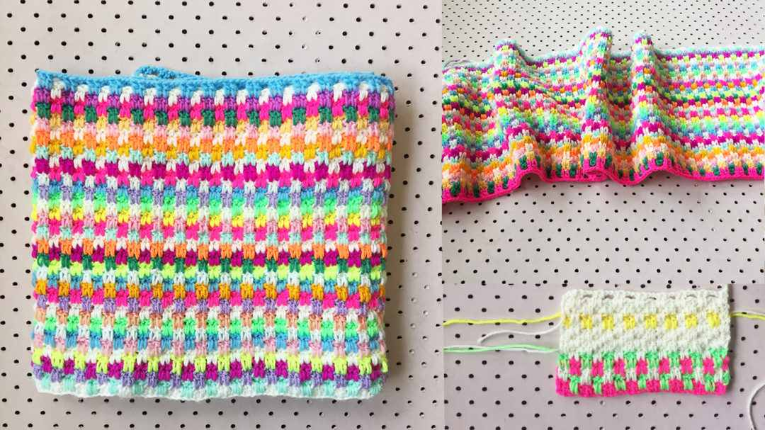 This Snuggle Stitch Crochet Blanket Is Super Awesome!